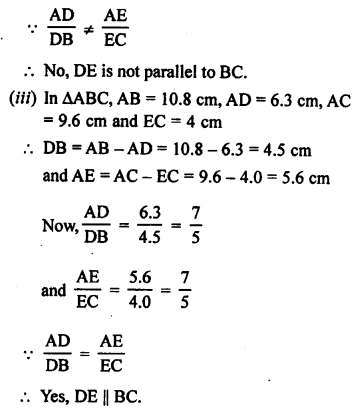 RS Aggarwal Solutions Class 10 Chapter 4 Triangles 3.2