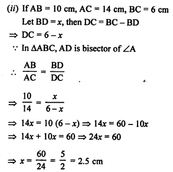 RS Aggarwal Solutions Class 10 Chapter 4 Triangles 4.2