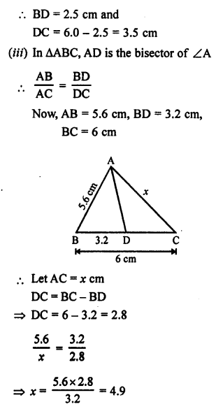 RS Aggarwal Solutions Class 10 Chapter 4 Triangles 4.3