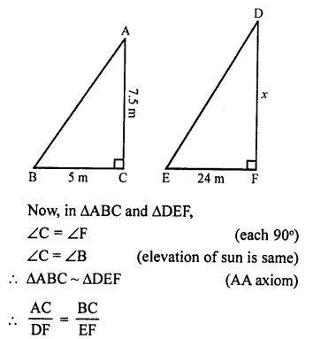 RS Aggarwal Solutions Class 10 Chapter 4 Triangles 4B 13.1