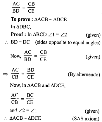 RS Aggarwal Solutions Class 10 Chapter 4 Triangles 4B 15.1