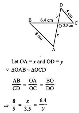 RS Aggarwal Solutions Class 10 Chapter 4 Triangles 4B 3.1