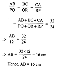RS Aggarwal Solutions Class 10 Chapter 4 Triangles 4B 5.1