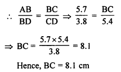 RS Aggarwal Solutions Class 10 Chapter 4 Triangles 4B 8.1