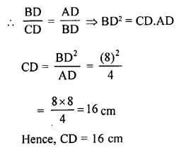 RS Aggarwal Solutions Class 10 Chapter 4 Triangles 4B 9.1