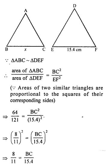 RS Aggarwal Solutions Class 10 Chapter 4 Triangles 4C 1.1