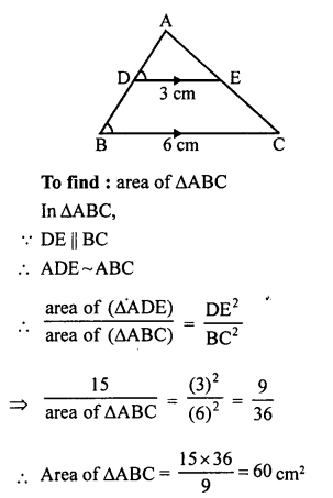 RS Aggarwal Solutions Class 10 Chapter 4 Triangles 4C 10.1