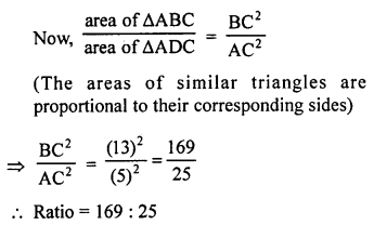 RS Aggarwal Solutions Class 10 Chapter 4 Triangles 4C 11.1