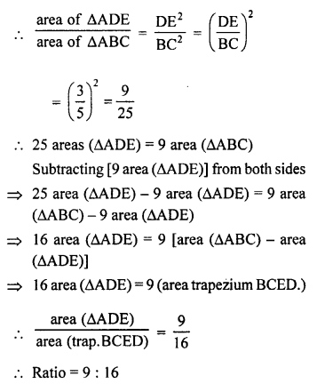 RS Aggarwal Solutions Class 10 Chapter 4 Triangles 4C 12.1