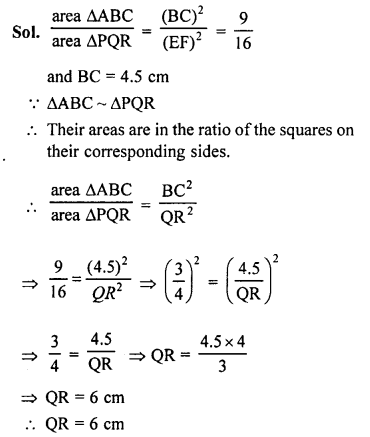 RS Aggarwal Solutions Class 10 Chapter 4 Triangles 4C 2.1