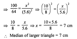 RS Aggarwal Solutions Class 10 Chapter 4 Triangles 4C 8.2