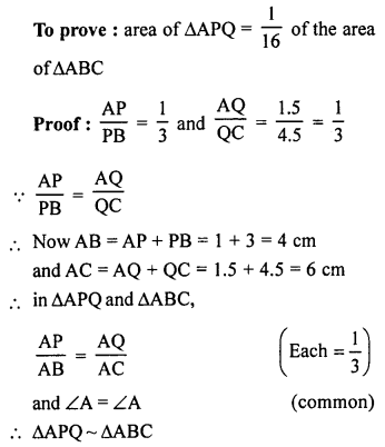 RS Aggarwal Solutions Class 10 Chapter 4 Triangles 4C 9.1