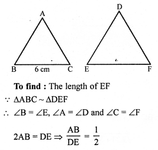 RS Aggarwal Solutions Class 10 Chapter 4 Triangles 4E 13.1