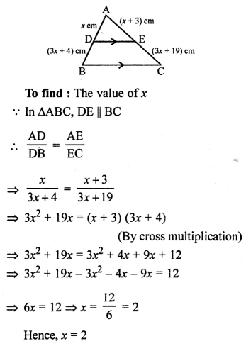 RS Aggarwal Solutions Class 10 Chapter 4 Triangles 4E 14.1