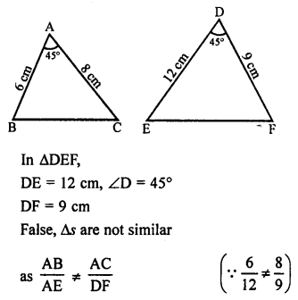 RS Aggarwal Solutions Class 10 Chapter 4 Triangles 4E 30.1