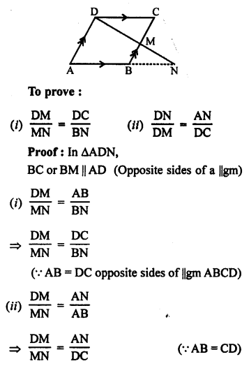 RS Aggarwal Solutions Class 10 Chapter 4 Triangles 5.1
