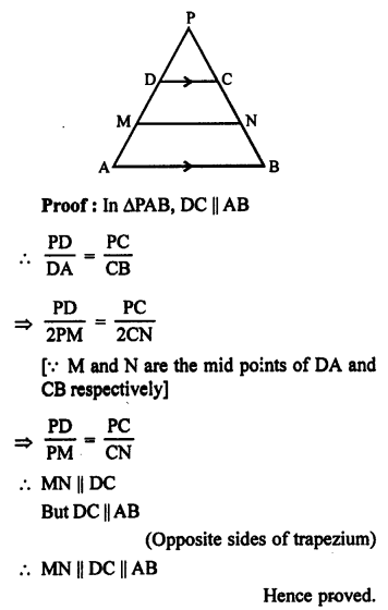 RS Aggarwal Solutions Class 10 Chapter 4 Triangles 6.1