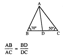 RS Aggarwal Solutions Class 10 Chapter 4 Triangles MCQ 22.1