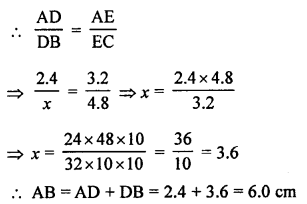 RS Aggarwal Solutions Class 10 Chapter 4 Triangles MCQ 23.1