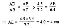 RS Aggarwal Solutions Class 10 Chapter 4 Triangles MCQ 24.1