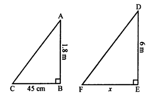 RS Aggarwal Solutions Class 10 Chapter 4 Triangles MCQ 3.1