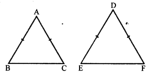RS Aggarwal Solutions Class 10 Chapter 4 Triangles MCQ 34.1