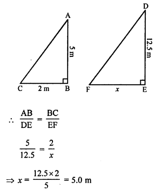 RS Aggarwal Solutions Class 10 Chapter 4 Triangles MCQ 5.1