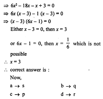 RS Aggarwal Solutions Class 10 Chapter 4 Triangles MCQ 53.5