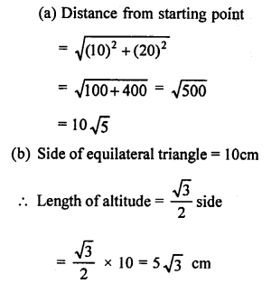 RS Aggarwal Solutions Class 10 Chapter 4 Triangles MCQ 54.1