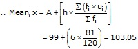 RS Aggarwal Solutions Class 10 Chapter 9 Mean, Median, Mode of Grouped Data Ex 9A 21.1