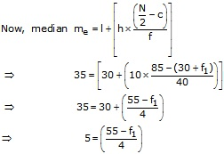 RS Aggarwal Solutions Class 10 Chapter 9 Mean, Median, Mode of Grouped Data Ex 9B 8.1