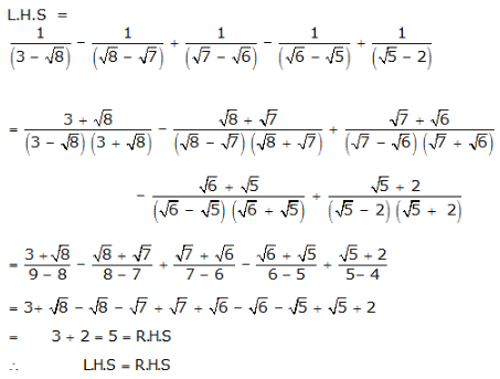 RS Aggarwal Solutions Class 9 Chapter 1 Real Numbers 1e 18.1