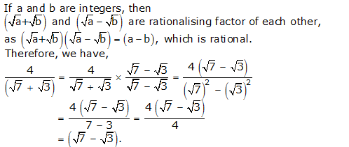 RS Aggarwal Solutions Class 9 Chapter 1 Real Numbers 1e 7.1