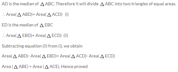 Selina Concise Mathematics Class 9 ICSE Solutions Area Theorems [Proof and Use] image -19