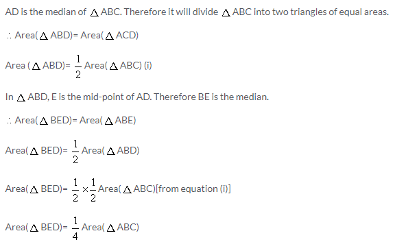 Selina Concise Mathematics Class 9 ICSE Solutions Area Theorems [Proof and Use] image -20