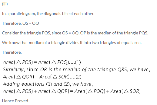 Selina Concise Mathematics Class 9 ICSE Solutions Area Theorems [Proof and Use] image -3