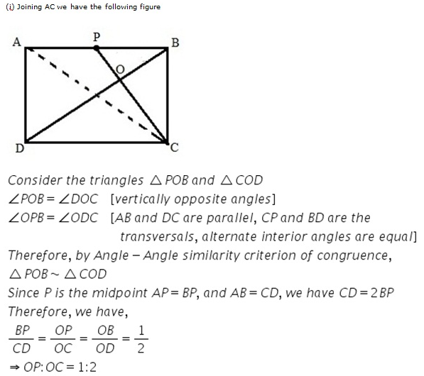 Selina Concise Mathematics Class 9 ICSE Solutions Area Theorems [Proof and Use] image -31