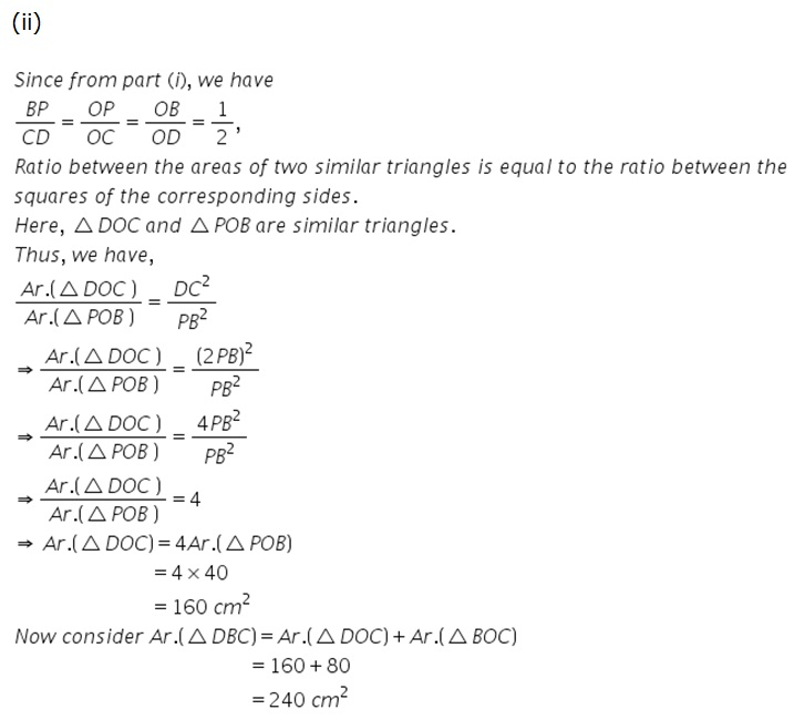 Selina Concise Mathematics Class 9 ICSE Solutions Area Theorems [Proof and Use] image -32