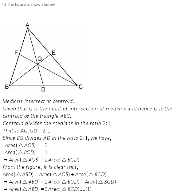 Selina Concise Mathematics Class 9 ICSE Solutions Area Theorems [Proof and Use] image -34