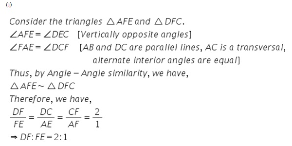 Selina Concise Mathematics Class 9 ICSE Solutions Area Theorems [Proof and Use] image -37