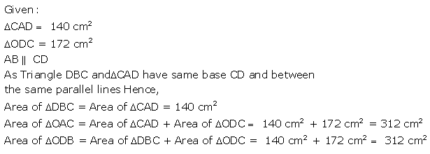 Selina Concise Mathematics Class 9 ICSE Solutions Area Theorems [Proof and Use] image -41