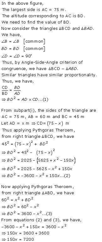 Selina Concise Mathematics Class 9 ICSE Solutions Area and Perimeter of Plane Figures image - 11