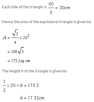 Selina Concise Mathematics Class 9 ICSE Solutions Area and Perimeter of Plane Figures image - 14