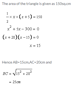Selina Concise Mathematics Class 9 ICSE Solutions Area and Perimeter of Plane Figures image - 15