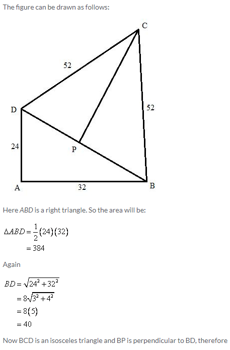 Selina Concise Mathematics Class 9 ICSE Solutions Area and Perimeter of Plane Figures image - 22