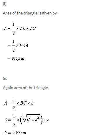 Selina Concise Mathematics Class 9 ICSE Solutions Area and Perimeter of Plane Figures image - 3