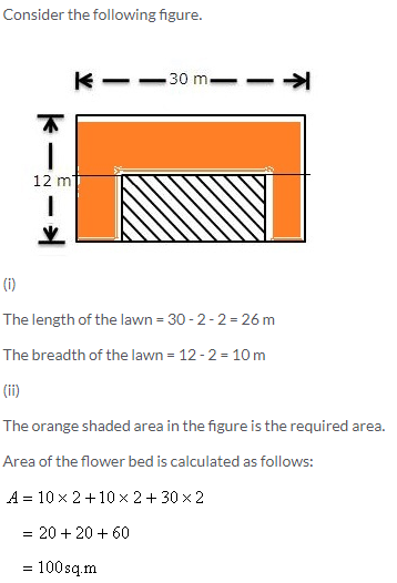 Selina Concise Mathematics Class 9 ICSE Solutions Area and Perimeter of Plane Figures image - 35
