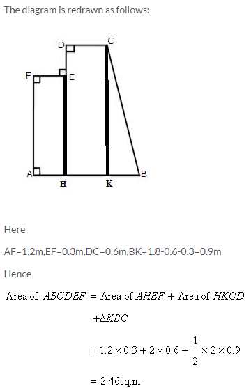Selina Concise Mathematics Class 9 ICSE Solutions Area and Perimeter of Plane Figures image - 42