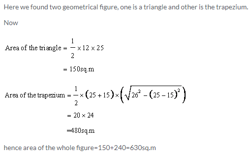 Selina Concise Mathematics Class 9 ICSE Solutions Area and Perimeter of Plane Figures image - 43