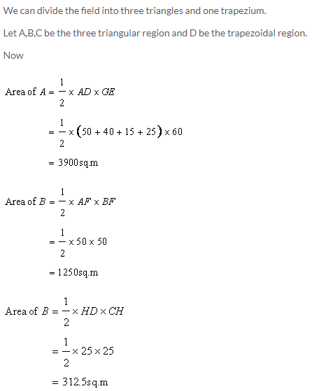 Selina Concise Mathematics Class 9 ICSE Solutions Area and Perimeter of Plane Figures image - 44